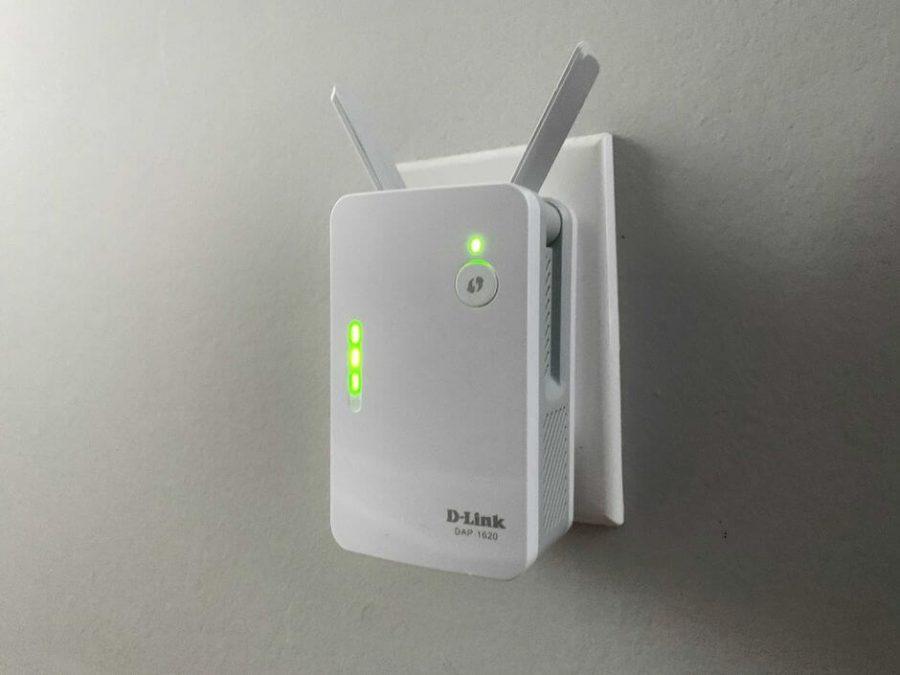 Setup Dlink Router at wall